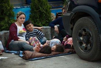 Serbia ha visto en los últimos días un gran aumento en el influjo de refugiados provenientes de países en conflicto como Siria, Iraq y Afganistán. Foto: ACNUR/I. Szabo