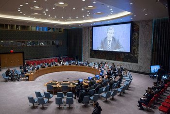 Совет Безопасности обсуждает ситуацию в Ливии. Фото из архива ООН/Рик Бахорнас
