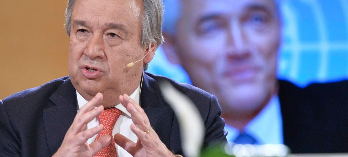 High Commissioner for Refugees António Guterres.