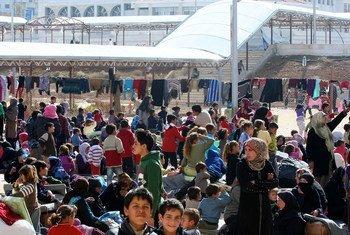 Más de 7,6 millones de sirios están internamente desplazados en el país. Foto: OCHA/Josephine Guerrero