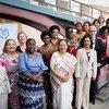 各国议会联盟主席与各国女性议长。