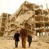 Los avances en materia de reconstrucción en Gaza no han aliviado la crisis humanitaria permanente que afecta a sus habitantes. Foto de archivo: UNICEF/Eyad El Baba