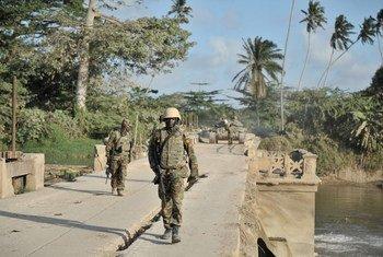 Tropas ugandesas siriviendo con la AMISOM en Somalia  Foto:AU/UN/IST/Tobin Jones