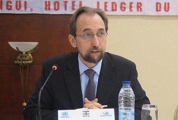 El Alto Comisionado de la ONU para los Derechos Humanos, Zeid Ra´ad Al Hussein Foto:MINUSCA,