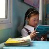 La educación es uno de los pilares del desarrollo sostenible. Foto de archivo: Banco Mundial/Khasar Sandag