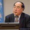 吴红波副秘书长资料图片。联合国图片/Eskinder Debebe