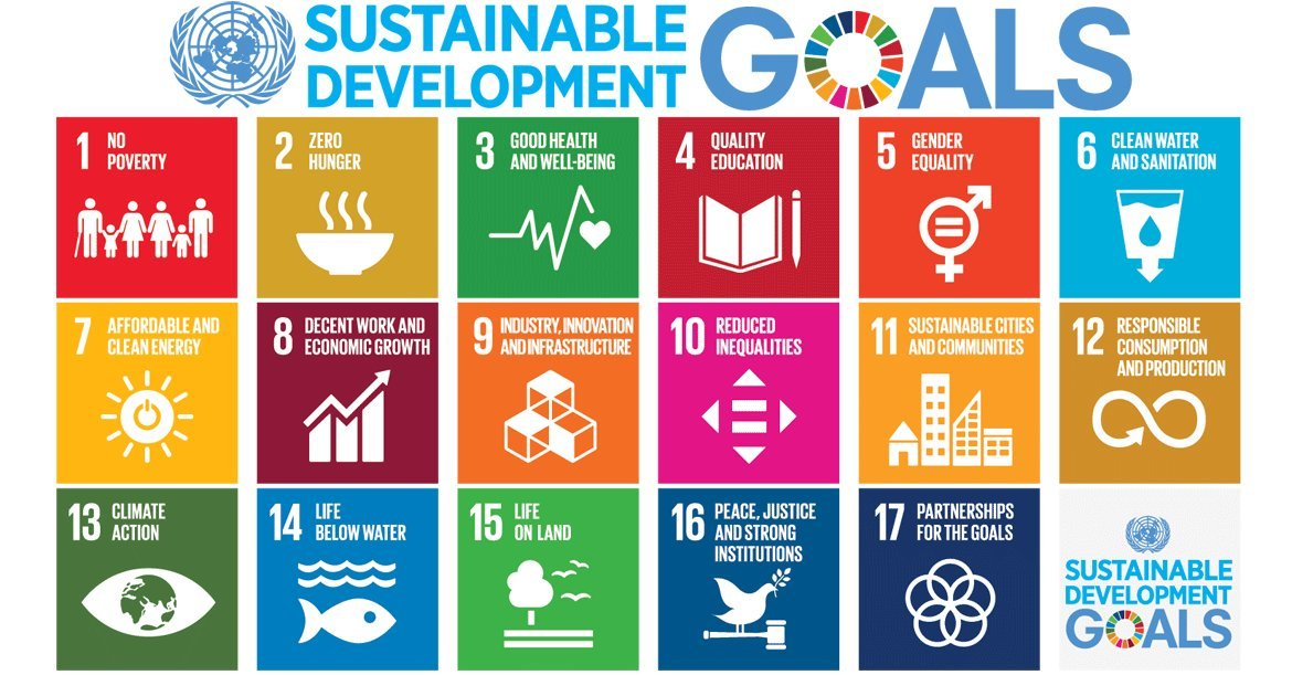 Image result for United Nations 17 Sustainable Development Goals (Source: © United Nations )