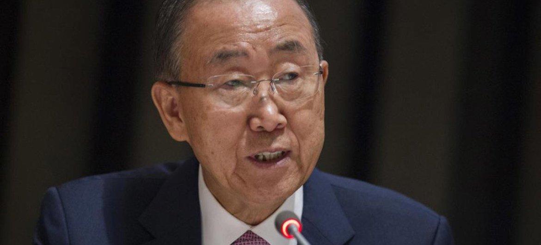 潘基文秘书长。联合国/Rick Bajornas
