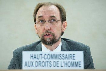 El Alto Comisionado de la ONU para los Derechos Humanos,  Zeid Ra'ad Al Hussein, manifestó gran alarma por las denuncias de abusos sexuales de menores por militares en la República Centroafricana. Foto de archivo ONU: Jean-Marc Ferré