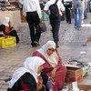 Mujeres en la ciudad vieja de Jerusalén. Foto de archivo: UNESCO/Roni Amelan