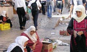 Одна из улиц в Старом городе  Иерусалима.  Фото ЮНЕСКО