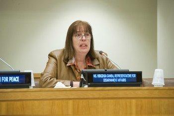 Virginia Gamba, chef du Mécanisme d'enquête conjoint. Photo ONU/Evan Schneider