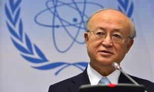 IAEA Director General Yukiya Amano. (file photo)
