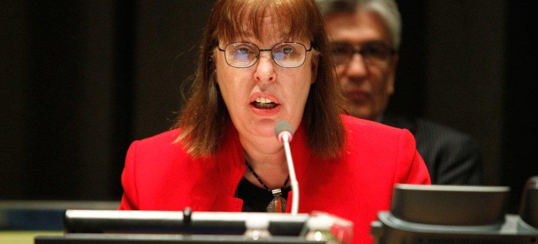 Virginia Gamba, representante especial de la ONU para niños y conflictos armados. Foto de archivo: ONU/Amanda Voisard