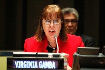 Head of OPCW-UN Joint Investigative Mechanism Virginia Gamba.