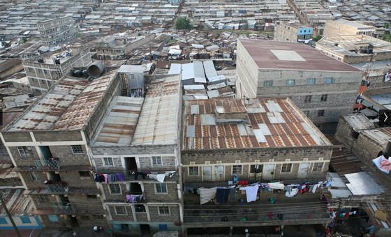 Cidades, como Nairobi, estão entre os locais mais desiguais do mundo
