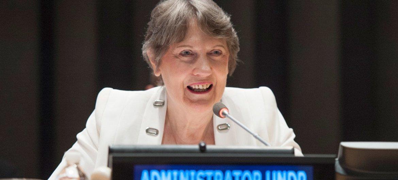 UN Development Programme (UNDP) Administrator Helen Clark.