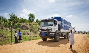 Le Programme alimentaire (PAM) achemine l'aide humanitaire. Photo : PAM / Giulio D'Adamo