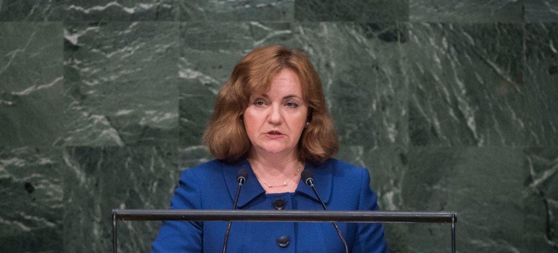 Наталья  Герман – директор  Центра ООН по превентивной дипломатии для Центральной Азии