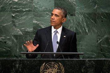 Le Président des Etats-Unis, Barack Obama. Photo : ONU/Cia Pak