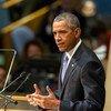 El Presidente de Estados Unidos, Barack Obama. Foto: ONU/Cia Pak.