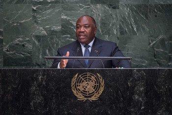 Los resultados provisionales darían la victoria al actual presidente del país, Ali Bongo, por un ajustado margen. Foto ONU: Amanda Voisard