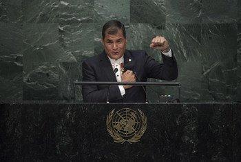 El presidente de Ecuador, Rafael Correa. Foto de archivo: Kim Haughton