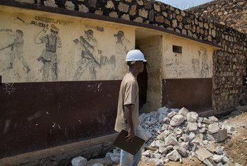 Trabajos de rehabilitación a cargo de MINUSCA en República Centroafricana  FotoMINUSCANektarios Markogiannis
