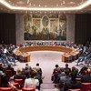安理会会场资料图片。联合国图片/Loey Felipe