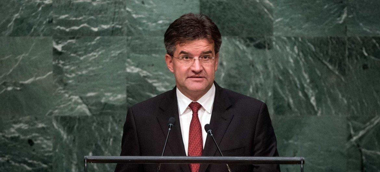 联大第72届会议主席莱恰克。