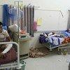 Hospitales en Yemen han sido blanco de ataques aéreos de la coalición árabe encabezada por Arabia Saudita. Foto: OCHA/Charlotte Cans