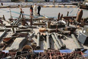 На улице города Мисрата в Ливии. Фото: УКГ