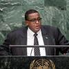 Prime Minister Omar Abdirashid Ali Sharmarke of Somalia addresses the general debate of the General Assembly's seventieth session.