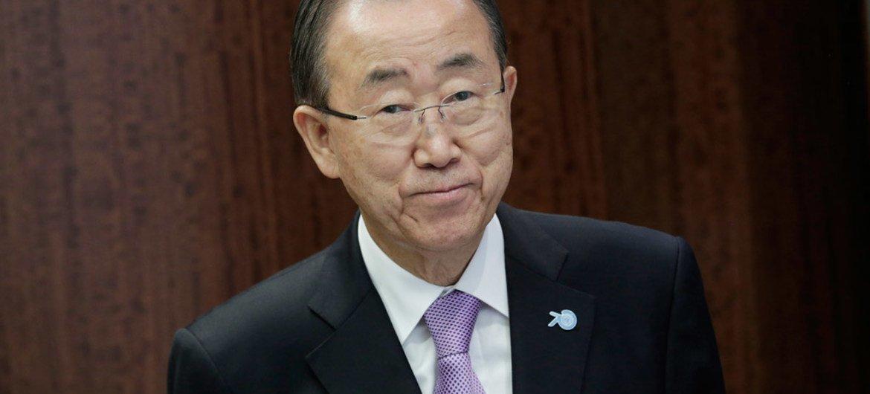 الأمين العام بان كي مون. المصدر: الأمم المتحدة/إيفان شنايدر
