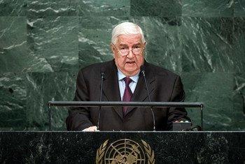 Валид аль-Муаллем.  Фото ООН