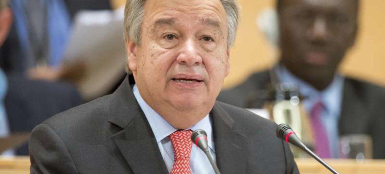 António Guterres, nuevo Secretario General de la ONU. Foto de archivo; ACNUR/Jean-Marc Ferré