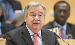 António Guterres en 2015 (archives). Photo HCR/Jean-Marc Ferré