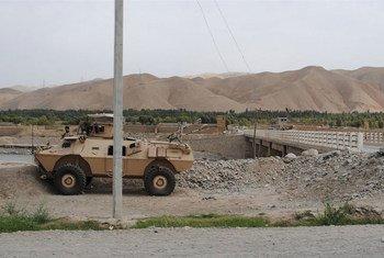 Les Talibans se sont établis dans le district de Khanabad, dans la province de Kunduz, en Afghanistan (août 2015). Photo : Bethany Matta / IRIN