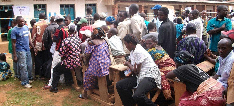 Jour d'élection à Bunia, en République démocratique du Congo (RDC), le 28 novembre 2011. Photo : MONUSCO