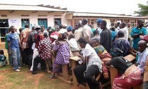 Election day in Bunia, Democratic Republic of the Congo (DRC), 28 November 2011.