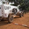 The police contingent of the UN Multidimensional Integrated Stabilization Mission in the Central African Republic (MINUSCA), along with the country's National Police, conducting a joint operation in the capital Bangui.