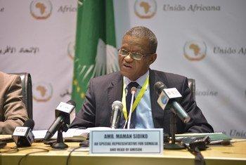 Maman Sidikou du Niger est le Représentant spécial du Secrétaire général en République démocratique du Congo (RDC) et Chef de la Mission des Nations Unies dans le pays, connue sous le nom de MONUSCO. AMISOM Photo / Tobin Jones