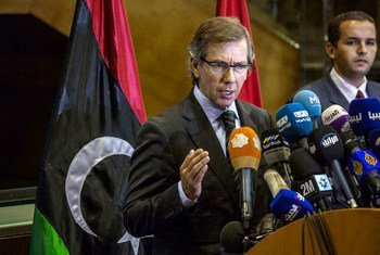 Bernardino León, representante especial de la ONU para Libia. Foto: UNSMIL