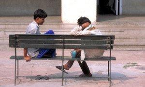 印度德里人类行为与相关科学研究所的患者。