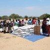 Distribution de nourriture dans le district de Zvishavane au Zimbabwe