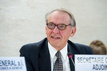 联合国常务副秘书长埃利亚松资料图片。联合国图片/Violaine Martin