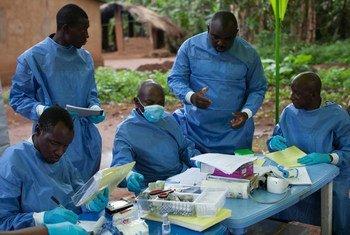 Медики в Гвинее Фото ВОЗ/ С.Хоки