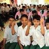 缅甸儿童。儿基会图片/Myo Thame