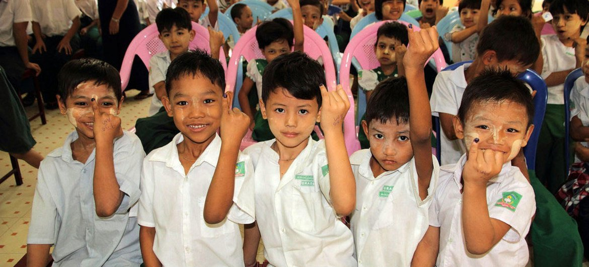 The ceasefire agreement in Myanmar is an historic step for children, who have suffered from some of the longest running civil conflicts in the world.