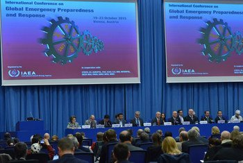 Participants at the opening of the International Conference on Global Emergency Preparedness and Response at IAEA headquarters in Vienna.